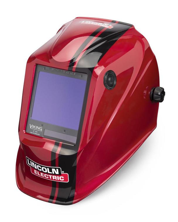 Lincoln Viking 3350 Code Red Welding Helmet K4034-4