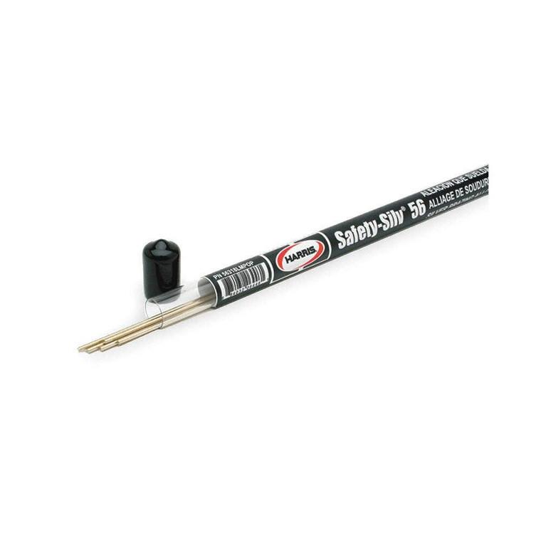 Harris Safety-Silv 56 1/16 x 18 Mini Pak - 5 Stick Tube 56318LMPOP