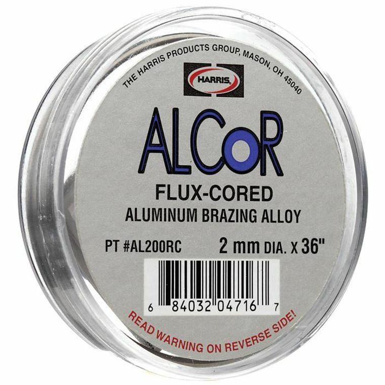 Harris ACLoR Aluminum Brazing Alloy 2mm Dia Coil AL200RC