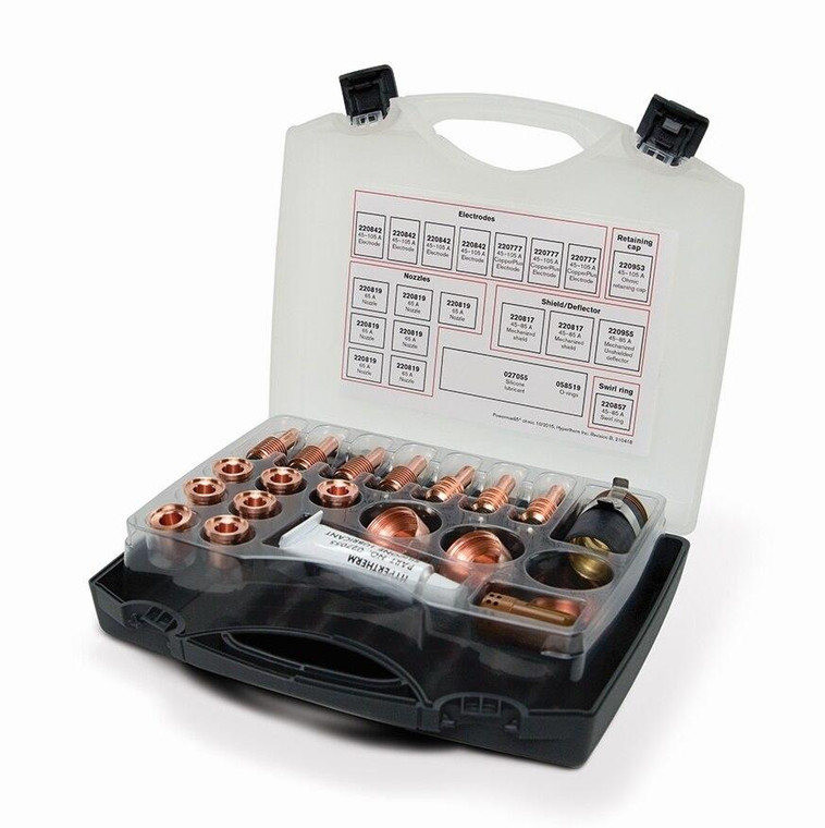 Hypertherm 851467 Powermax 65 Essential Mechanized Ohmic Cutting Consumable Kit