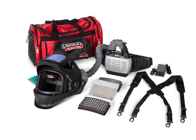 Lincoln Viking 3250D FGS Welding Helmet PAPR with Standard Battery K4550-1