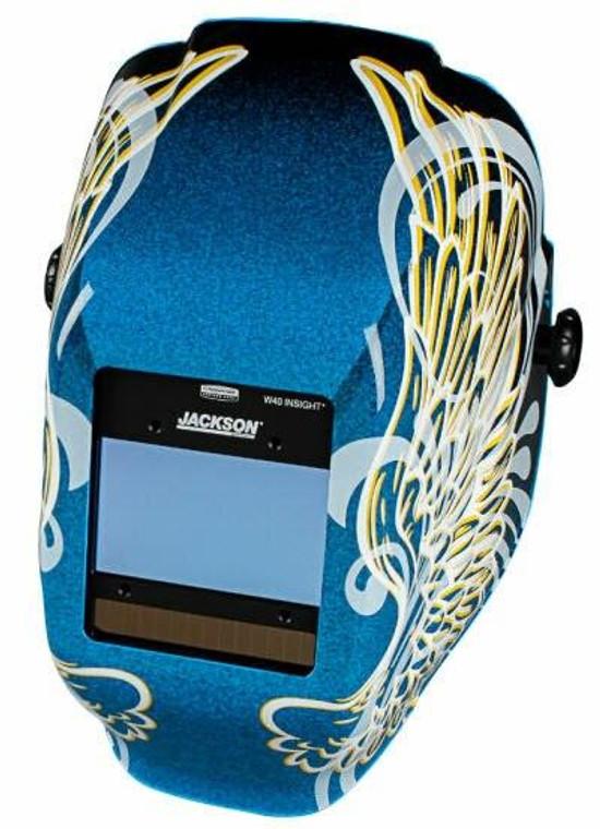 Jackson Insight Digital Variable ADF Welding Helmet - Gold Wings 46100