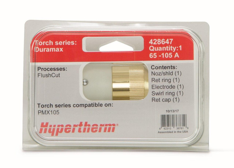 Hypertherm Consumable Kit Duramax/Duramax Lock FlushCut 105 Amp - 428647