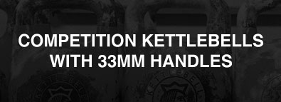 Competition Kettlebells With 33mm Handles