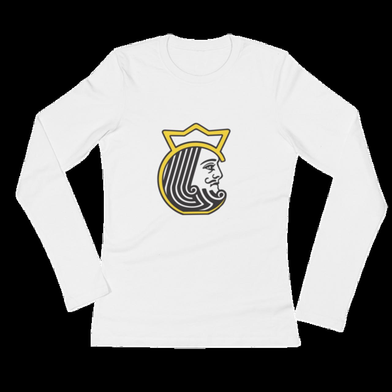 af255cdc813 Kettlebell Kings Head Ladies  Long Sleeve T-Shirt - Kettlebell Kings