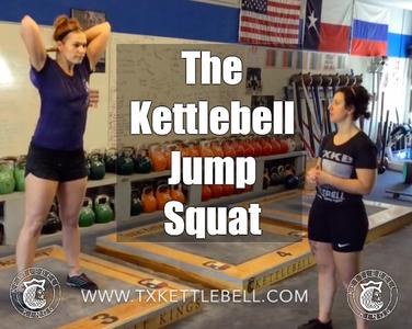 Kettlebell Technique | The Jump Squat - Kettlebell Kings