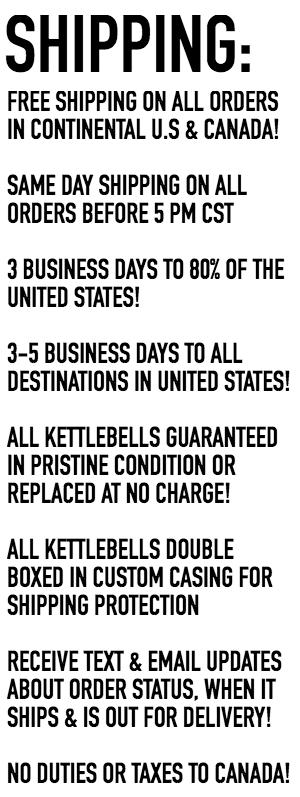 kettlebell shipping