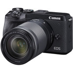 CANON EOS M6 MARK II MIRRORLESS CAMERA WITH18-150 & EVF KIT