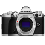 OLYMPUS OM-D E-M5 MARK II CAMERA (BODY ONLY), SILVER