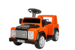 KOOL KARZ DMD-228OR, LAND ROVER DEFENDER RIDE ON TOY CAR (SMALL) ORANGE