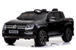 KOOL KARZ DMD-298BK, VOLKSWAGEN AMAROK TWO SEATER ELECTRIC RIDE ON TOY CAR BLACK