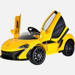 KOOL KARZ KKMCL-YE001, MCLAREN P1 RIDE ON TOY CAR YELLOW