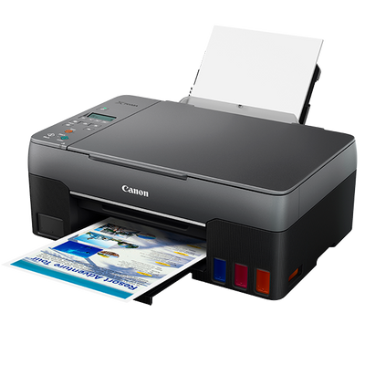 Three New Canon PIXMA G-Series MegaTank Refillable Ink Printers