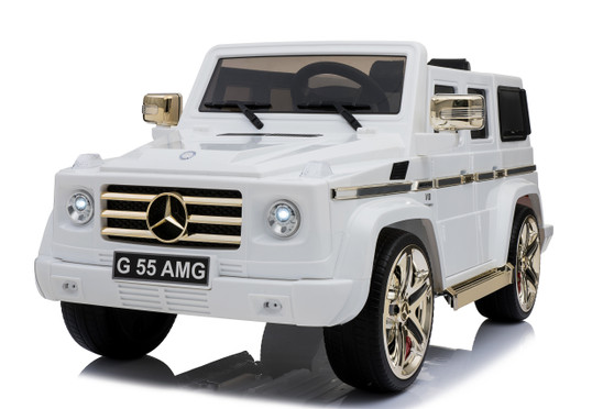 KOOL KARZ DMD-178WG, MERCEDES G55 AMG WHITE AND GOLD