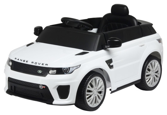 KOOL KARZ KKLR-004R, RANGE ROVER RIDE ON TOY CAR WHITE