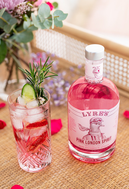 Lyre's Pink London G&T