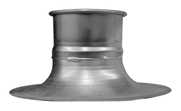 Nordfab Hood Bell Mouth Galv 20ga 3QF