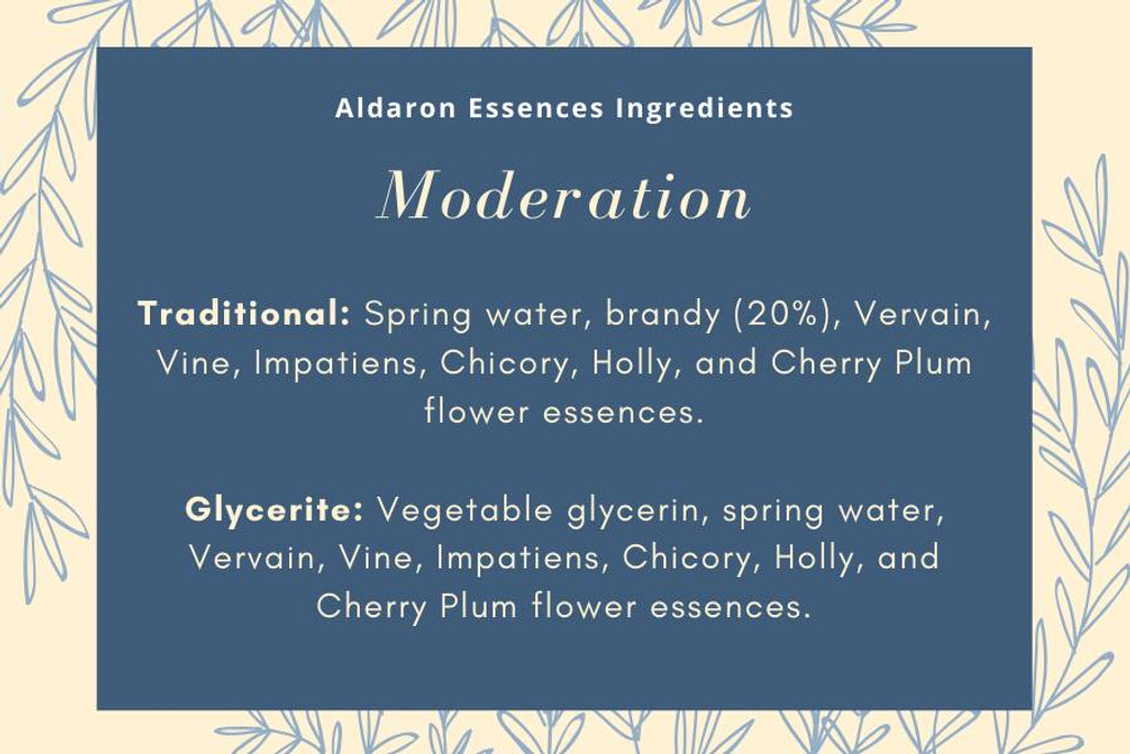 Moderation - for high-drive, bossy, demanding dogs