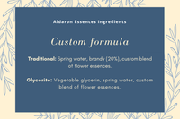 Purchase a Custom Flower Essence Formula (New or Refill)