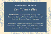 Confidence Plus - for improved self confidence, self assurance, and resilience