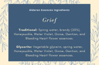 Grief - to help process sadness and grief due to loss