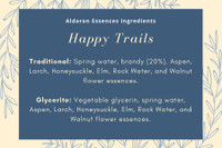 Happy Trails - improves adaptability to change of home or environment