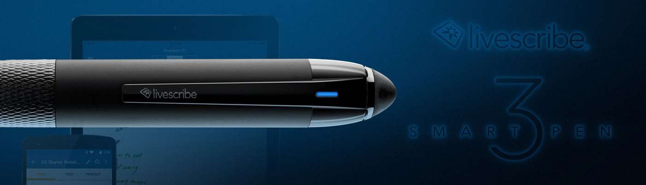 Livescribe SmartPens and accessories for students and professionals!