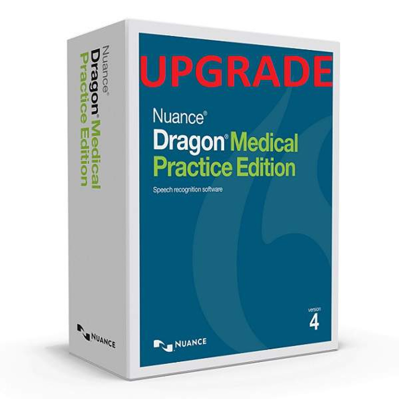Nuance® Dragon® Medical Practice Edition 4, Upgrade from Dragon® Medical  Practice Edition 2