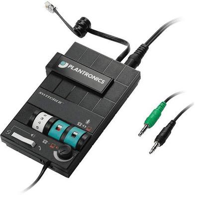 Plantronics MX10 MultiMedia Headset Switcher and Amplifier Image