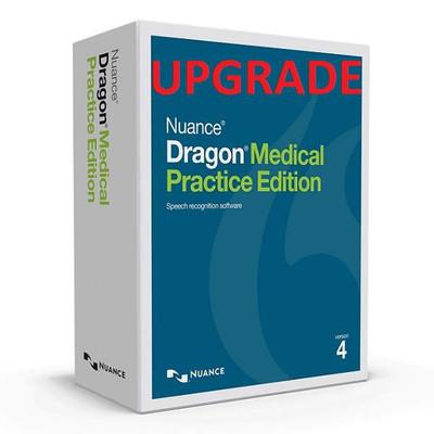 Dragon Medical Practice Edition 4 Upgrade - DOWNLOAD