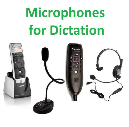 View Microphones for Dictation