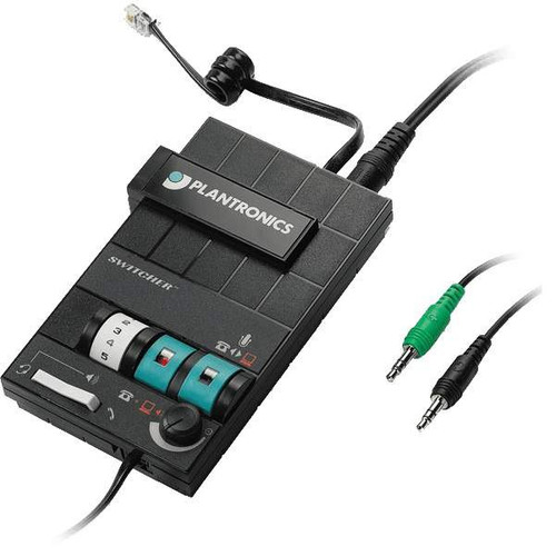Plantronics MX10 MultiMedia Headset Switcher and Amplifier Image