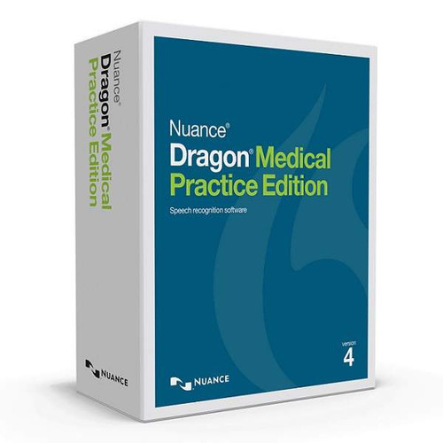 Dragon Medical Practice Edition 4 Box Image - DOWNLOAD