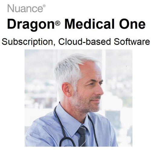 Dragon Medical One Subscription, Cloud-based Dictation Software