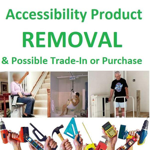 Accessibility Product Removal & Possible Trade-In or Purchase