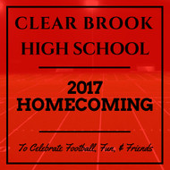 When is Clear Brook High School's Homecoming 2017