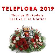 The Teleflora Thomas Kinkade 2019 Arrangement