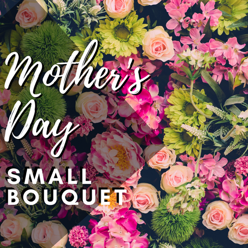 Mother's Day Spring Bouquet from Enchanted Florist. Our designers will create a beautiful bouquet in a vase with spring colors for Mother's Day. The bouquet will be arranged in a vase and filled with seasonal spring flowers