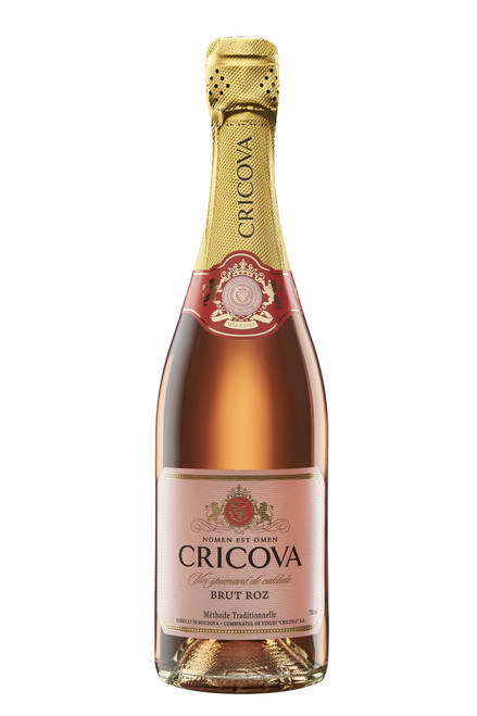 Cricova Rose Sparkling Brut (Methode Traditionnelle)