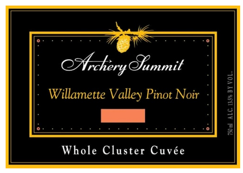 Archery Summit 'Whole Cluster Cuvee' Pinot Noir 2012