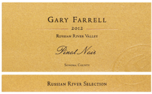 "Gary Farrell ""Russian River Selection"" Russian River Valley Pinot Noir 2012"
