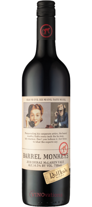 RedHeads Barrel Monkeys Shiraz 2018