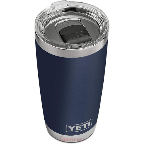 Engraved YETI Rambler 20 oz Tumbler with Magslider Lid (Various Colors)