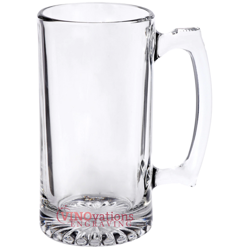 Engraved Beer Mug with handle 26.5oz