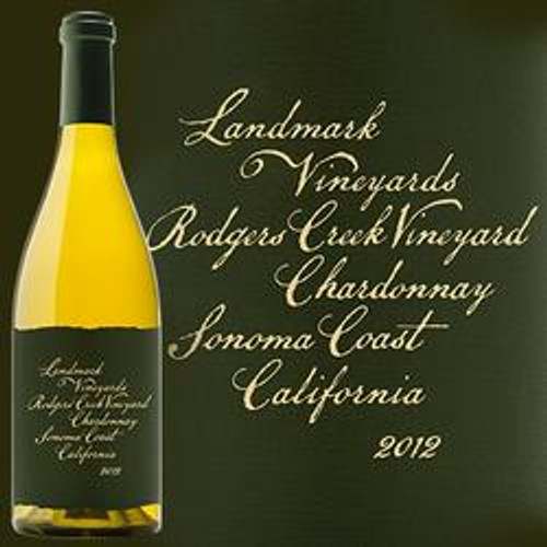 Landmark Vineyards Rodgers Creek Chardonnay 2012