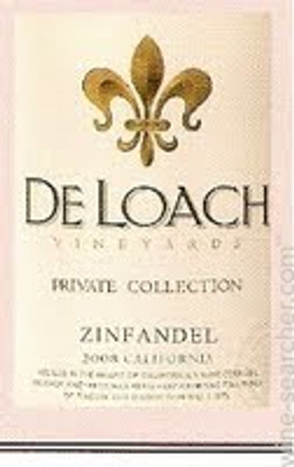 DeLoach Private Collection Sonoma County Zinfandel 2013