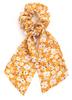 Floral Ribbon Scrunchie