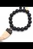 Karli Buxton | Black Onyx With Charm Bracelet