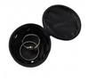 Monogrammed Jewelry Case in Black