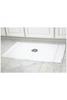 Monogrammed Luxury Bath Mat in White